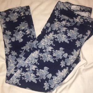 GAP Jeans - Blue Floral - 27/4r